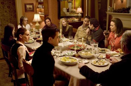 The Family Stone - Christmas Eve dinner
