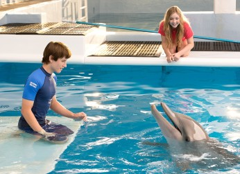 Dolphin Tale 2 - Nathan Gamble, Cozi Zuehlsdorff