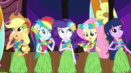 My Little Pony: Equestria Girls - Rainbow Rocks - The girls