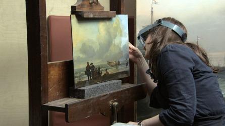 National Gallery - examining