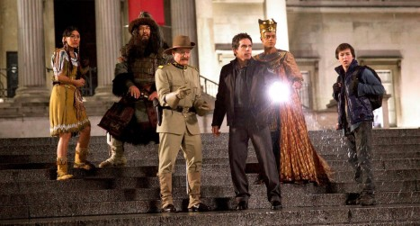 Night at the Museum: Secret of the Tomb - The whole gang