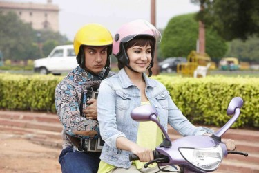 PK - Aamir Khan, Anushka Sharma