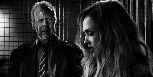 Sin City: A Dame to Kill For - Bruce Willis, Jessica Alba