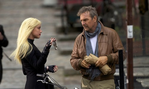 3 Days to Kill - Amber Heard, Kevin Costner