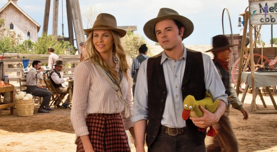 A Million Ways to Die in the West - Charlize Theron, Seth MacFarlane