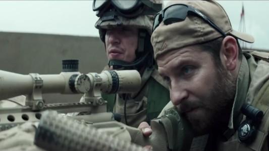 American Sniper - Kyle Gallner, Bradley Cooper