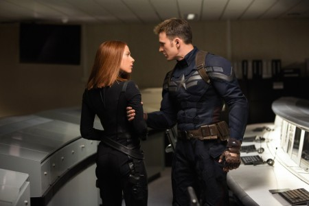 Captain America: The Winter Soldier - Scarlett Johansson, Chris Evans