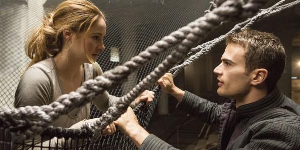 Divergent - Shailene Woodley, Theo James