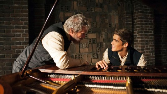 The Giver - Jeff Bridges, Brendon Thwaites