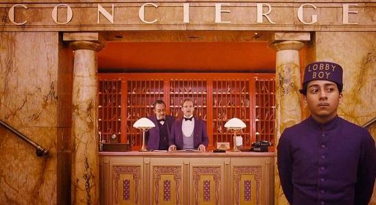 The Grand Budapest Hotel - Ralph Fiennes, Anthony Quinonez
