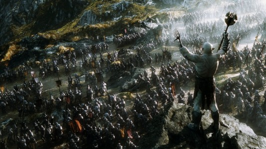 The Hobbit: The Battle of the Five Armies - Azog and his orc army
