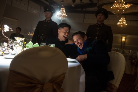 The Interview - Randall Park, James Franco