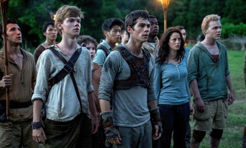 The Maze Runner - Thomas Brodie-Sangster, Dylan O'Brien, Kaya Scodelario
