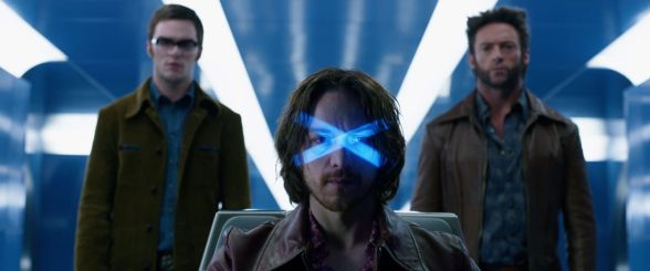 X-Men: Days of Future Past - Nicholas Hoult, James McAvoy, Hugh Jackman