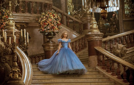 Cinderella (2015) - Lily James (gown)