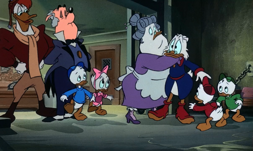 DuckTales the Movie - The whole gang
