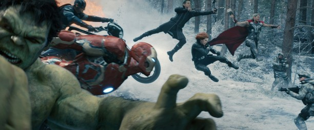Avengers - Age of Ultron - Action shot