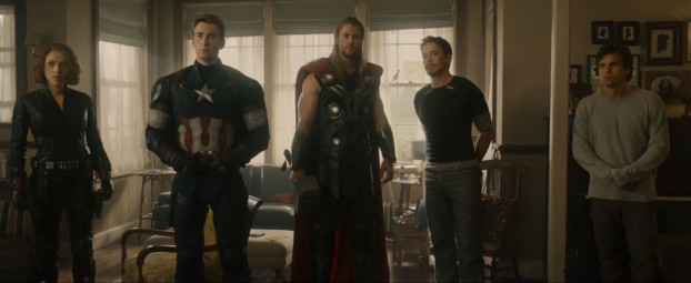 Avengers - Age of Ultron - Scarlett Johansson, Chris Evans, Chris Hemsworth, Robert Downey, Jr., Mark Ruffalo