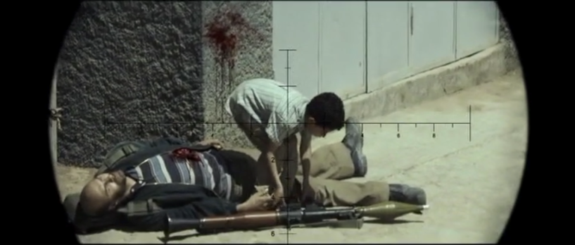 American Sniper - Child in crosshairs