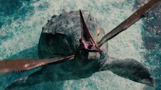 Jurassic World - Mosasaurus, pteranodon