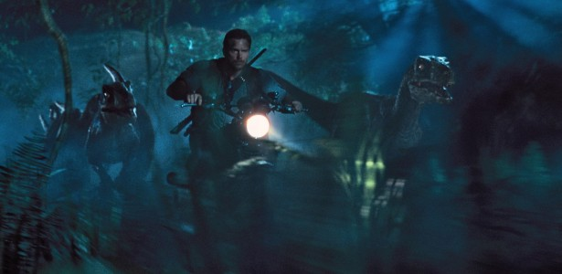 Jurassic World - Velociraptors, Chris Pratt