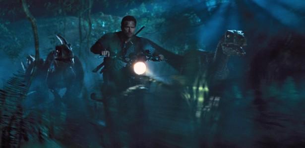 Jurassic World - Velociraptors, Chris Pratt