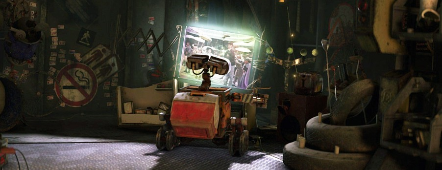 Wall-E - Watching Hello Dolly
