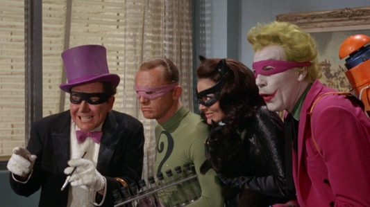Batman The Movie - Burgess Meredith, Frank Gorshin, Lee Meriwether, Cesar Romero