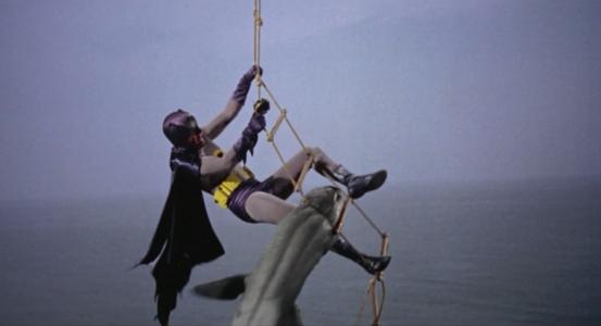 Batman: The Movie - Shark attack