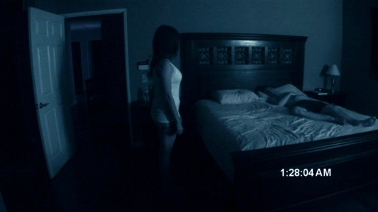 Paranormal Activity - Katie Featherston, Micah Sloat