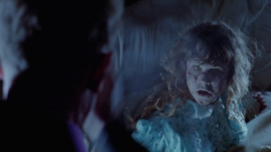 The Exorcist - Linda Blair, possessed