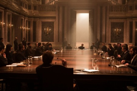 Spectre (2015) - Meeting