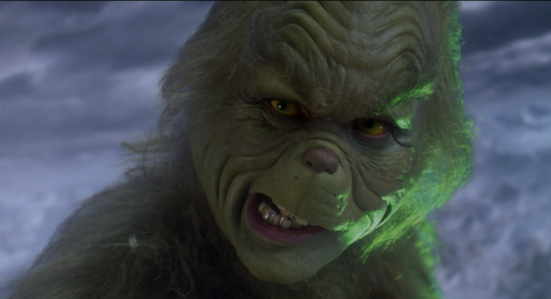 How the Grinch Stole Christmas (2000) - Jim Carrey