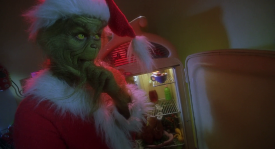 How the Grinch Stole Christmas (2000) - Robbing