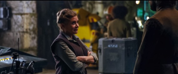 Star Wars Episode VII - The Force Awakens - Carrie Fisher