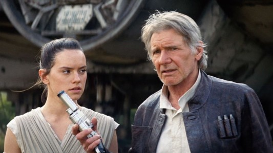 Star Wars Episode VII - The Force Awakens - Daisy Ridley, Harrison Ford