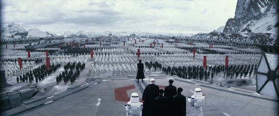 Star Wars Episode VII - The Force Awakens - Starkiller Base