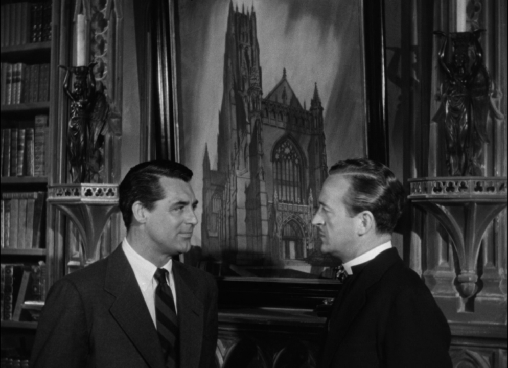 Review the bishop s wife the viewer 39 s commentary for Cary grant first movie