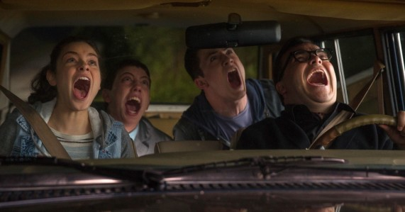 Goosebumps - Odeya Rush, Ryan Lee, Dylan Minnette, Jack Black