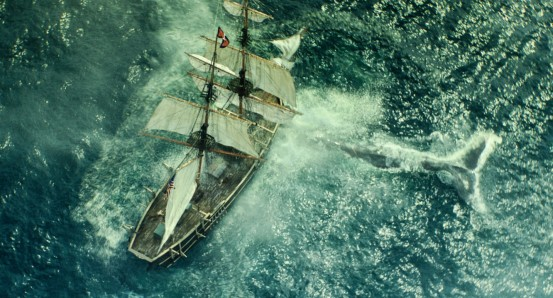 In the Heart of the Sea - Whale attack