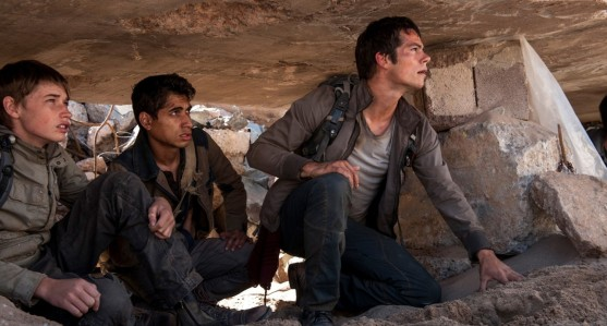 Maze Runner: The Scorch Trials - Jacob Lofland, Alexander Flores,  Dylan O'Brien