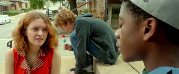 Me and Earl and the Dying Girl - Olivia Cooke, Thomas Mann, RJ Cyler