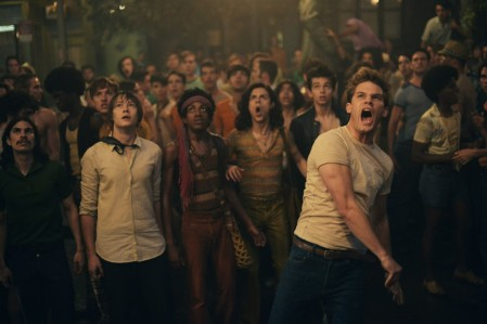 Stonewall (2015) - bricks thrown