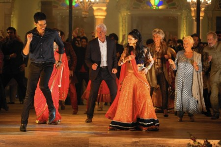 The Second Best Exotic Marigold Hotel - Dev Patel, Richard Gere, Tina Desai, Diana Hardcastle, Dame Judi Dench, Ronald Pickup