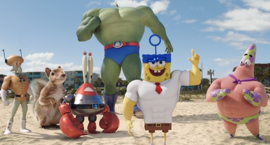 The SpongeBob Movie: Sponge Out of Water - hero shot