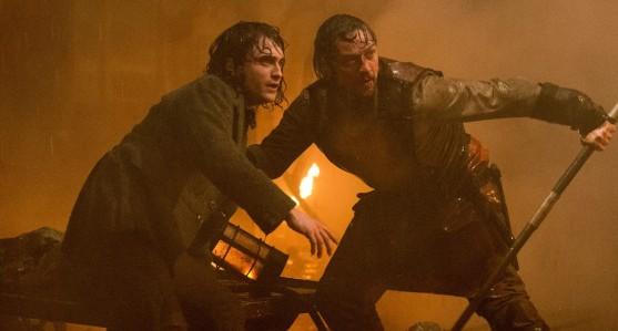 Victor Frankenstein - Daniel Radcliffe, James McAvoy