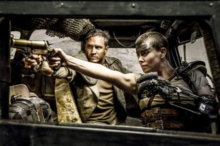 Mad Max: Fury Road - Tom Hardy, Charlize Theron