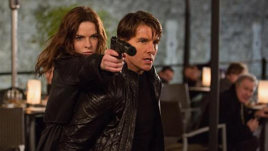 Mission: Impossible - Rogue Nation - Rebecca Ferguson, Tom Cruise