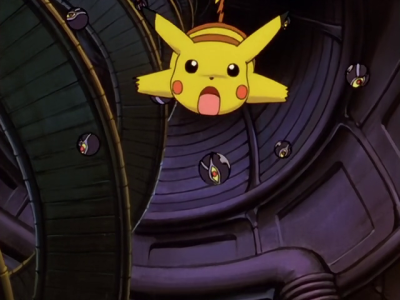 Pokemon The First Movie - Pikachu