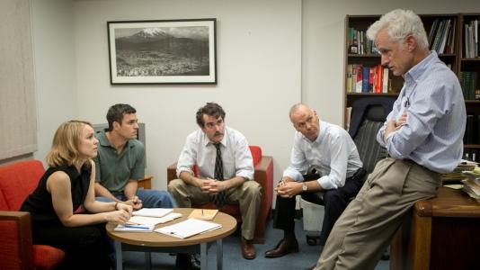 Spotlight - Rachel McAdams, Mark Ruffalo, Brian d'Arcy James, Michael Keaton, John Slattery